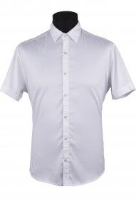 Сорочка мужская Semсo 9093 (белый, синий)