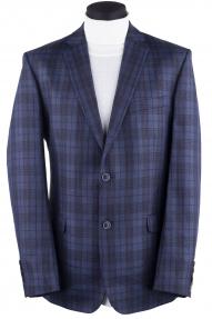 Пиджак мужской Mark Man 0018 (синий в клетку)
