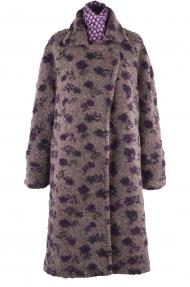 Пальто женское I.KOKAREVA 004 Красотка (коричневый)