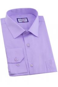 Сорочка мужская Bazzelli 0300-3CRC (светло-фиолетовый)