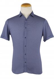 Сорочка мужская Mennsler 050160 (цветной принт)