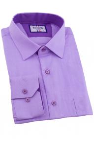 Сорочка мужская Bazzelli 0700-19CRC (лаванда)