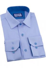 Сорочка мужская Bazzelli 0700-40CRD (небесно-голубой)