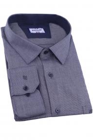 Сорочка мужская Bazzelli 0700-BT-4CRC (серый)