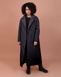 Пальто женское Jane Sarta 097 (чёрный)