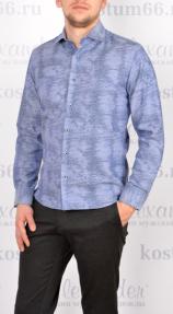 Рубашка мужская Carducci 1048 (рябь)