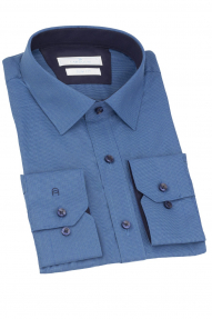 Сорочка мужская CARDUCHI 1092-5CRD (лазурный)