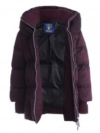 Куртка женская Scanndi (бордо) DW19350 Зима