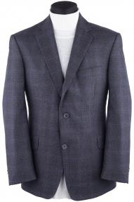 Пиджак мужской Otto Berg RJ12/1 (серая в синюю клетку)