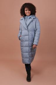 Пальто женское Jane Sarta 132 (дымчато голубой)