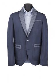 Мужской пиджак Carducci 15013 (темно-синий)