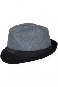Шляпа AIS COLLEZIONI (серо-голубой)