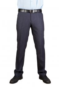 Мужские брюки Claude 1582  (серо-синий)
