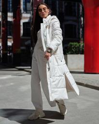 Пальто женское еврозима Jane Sarta 162 (белый)