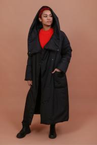 Пальто женское демисезонное Jane Sarta 168 (чёрный)