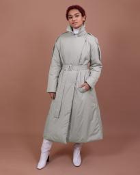 Пальто женское демисезонное Jane Sarta 169 (гейнcборо)