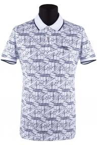 Рубашка поло мужская Pepe jeans 1853 (белый)