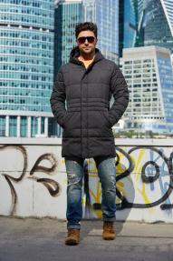 Куртка мужская утепленная Scanndi (темно-серый) CM19020