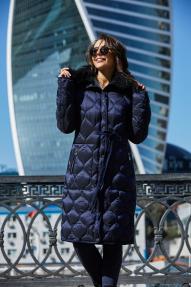 Куртка женская Scanndi (синий/хаки) DW19028 Зима