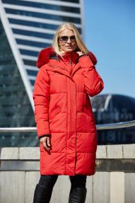 Куртка женская Scanndi (красный) DW19048 Зима