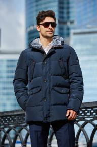 Куртка мужская Scanndi (темно-синий) DM19091b, без меха