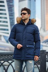 Куртка мужская Scanndi (Синий) DM19315 Зима