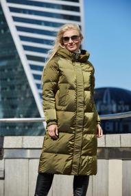 Куртка женская Scanndi (хаки) DM19342 Зима