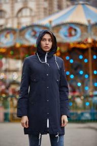Куртка женская Scanndi (темно-синий) BW29010 Весна/Лето