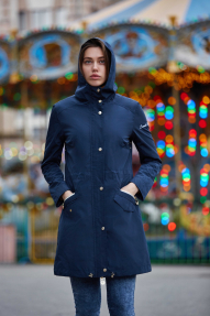 Куртка женская Scanndi (темно-синий) BW29090 Весна/Лето
