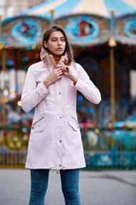 Куртка женская Scanndi (светло-розовый) BW29090 Весна/Лето