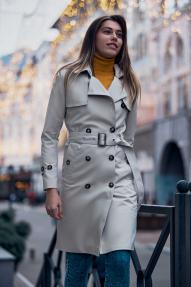 Куртка женская Scanndi (бежевый) BW2916 Весна/Лето