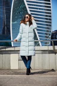 Куртка женская Scanndi (нежно зелёный) DW19344 Зима