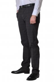 Брюки мужские Wegener 6628/38 Conti (серо-коричневая клетка)