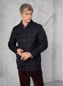 Куртка демисезонная муж. DTMD 9066 (темно-синий)