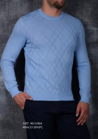 Мужской джемпер Van Cliff 9013/004 (голубой)