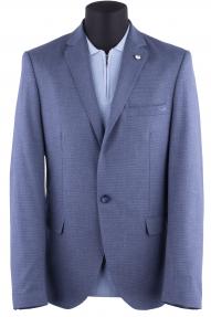 Пиджак мужской DCS 2022 (тёмно-синий с белым)