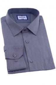 Сорочка мужская Bazzelli 2055-2CRC (серый)