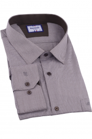 Сорочка мужская Bazzelli 2055-1CRC (тёмно-бежевый)