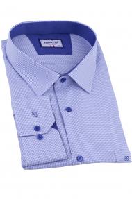 Сорочка мужская Bazzelli 2064-BT-7CRC (голубой)