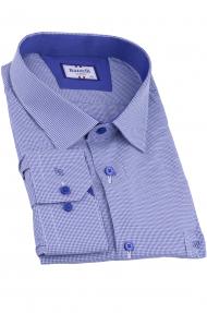 Сорочка мужская Bazzelli 2064-BT-7CRC (синий)