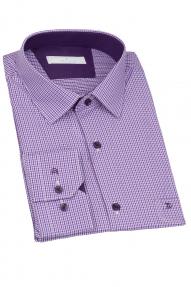 Сорочка мужская CARDUCHI 2081-2CRC (сине-фиолетовый)
