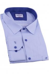 Сорочка мужская Bazzelli 2090-BT-1CRC (синий)