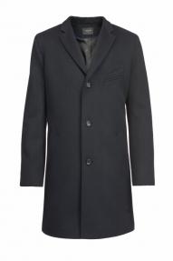 Пальто демисезонное «Alexander» М-209 (темно-синий)