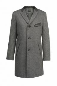 Пальто демисезонное «Alexander» М-210 (серый)