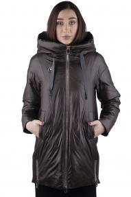 Куртка женская BTN button 21029 (хаки)