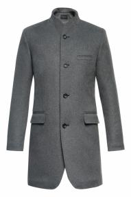 Пальто демисезонное «Alexander» М-212 (серая рябь)