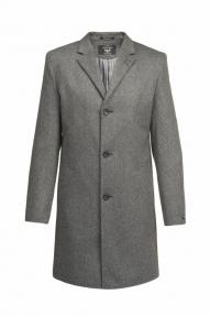 Пальто демисезонное «Alexander» М-214 (темно-синий)