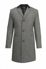 Пальто демисезонное «Alexander» М-221 (серый)