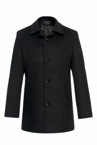 Пальто демисезонное «Alexander» М-224 (черный)