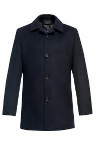 Пальто демисезонное «Alexander» М-224 (темно-синий)